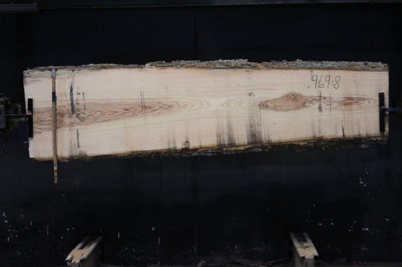slab 969-8 rough size 2.5″ x 20-27″ avg. 23″ x 8′
