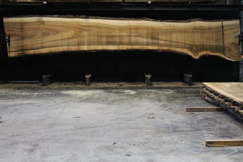 Cottonwood Slab 876-10, rough size 2.5″ x 31-45″ avg. 37″ x 21′ $1300
