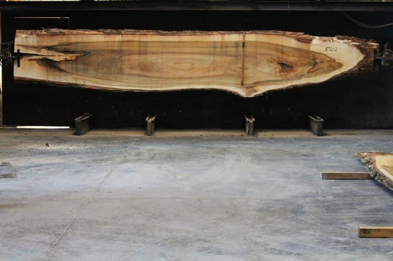Cottonwood Slab 876-2, rough size 2.5″ x 19-44″ avg. 33″ x 21′ $950