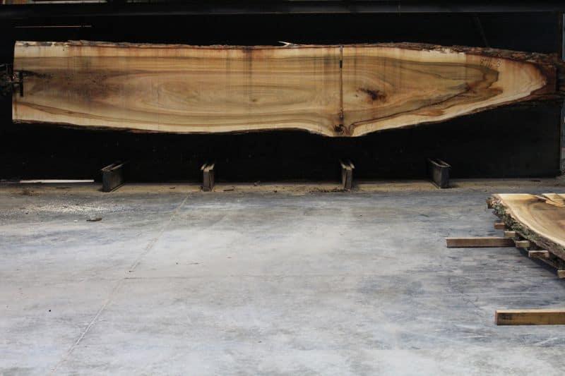 Cottonwood Slab 876-3, rough size 2.5″ x 15-44″ avg. 36″ x 21′ $1050