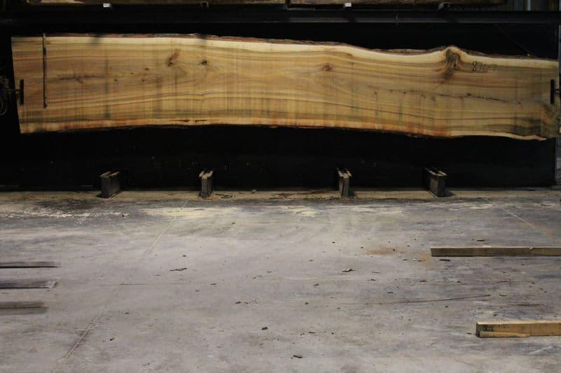 Cottonwood Slab 876-7, rough size 2.5″ x 38-47″ avg. 41″ x 21′ $1475.