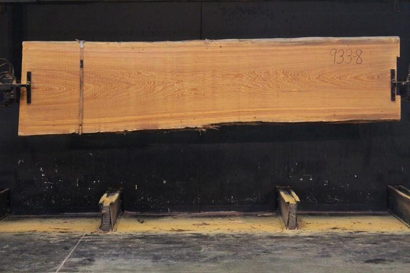 Cypress Slab 933-8, rough size 2.5″ x 30-35″ avg. 32″ x  11′ $1125