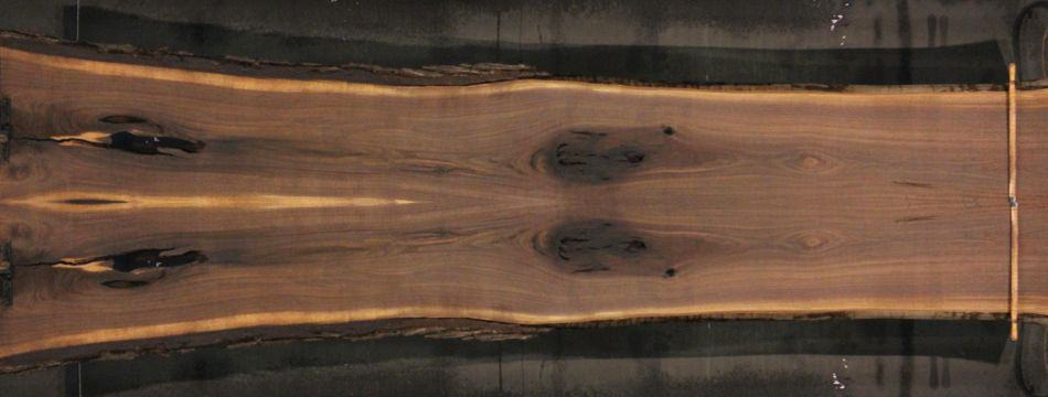 walnut 955-1&2 simulation, approx. size 2″ x 40″ x 17′ Both Rough Slabs $2850