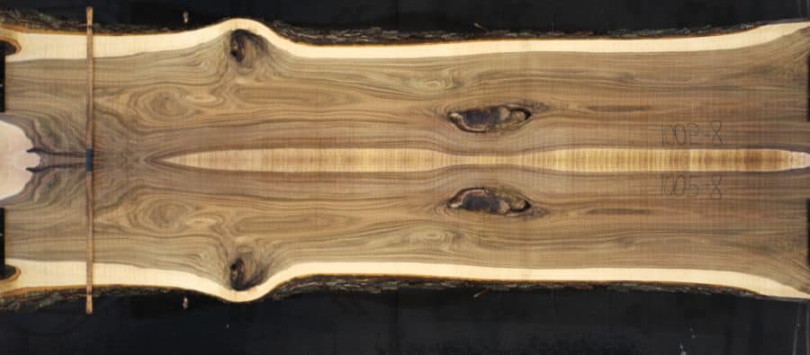 slabs 1005-8&9 simulation, approx. size 1.5″ x 37″ x 12′ Both Rough Slabs $1950