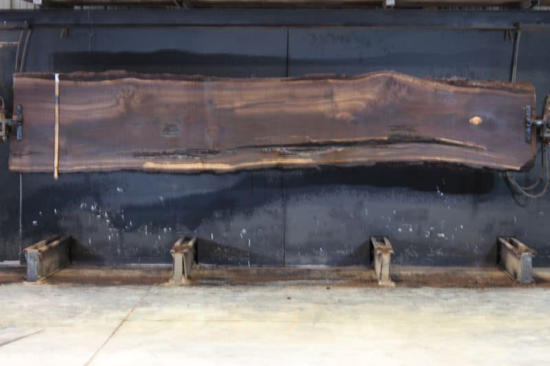 walnut slab 1003-1 rough size 2.5″ x 25-31″ avg. 28″ x 14′. SALE PENDING 21-5026