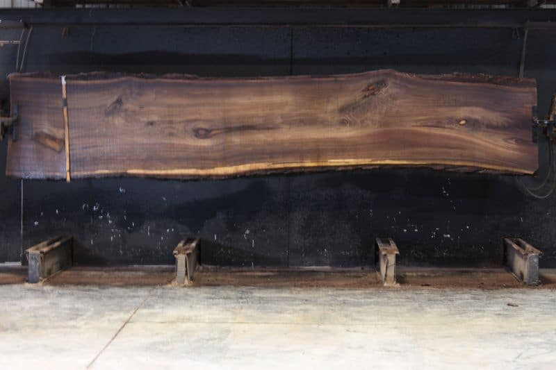 walnut slab 1003-2 rough size 2.5″ x 28-33″ avg. 29″ x 14′. SALE PENDING 21-5026
