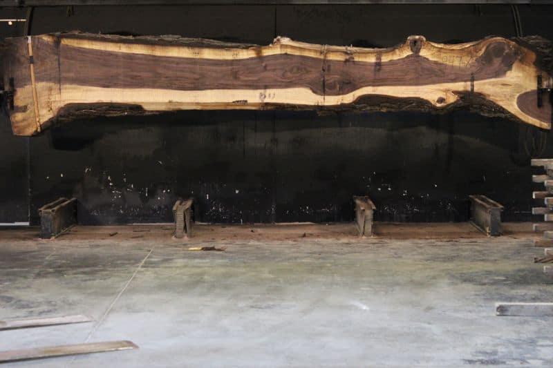 Walnut Slab 947-8, rough size 2.5″ x 15-37″ avg. 20″ x 16′ $1300