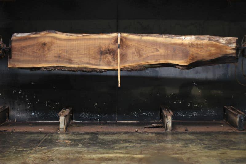 walnut slab 1054-1 rough size 2″ x 12-24″ avg. 18″ x 12′ $495