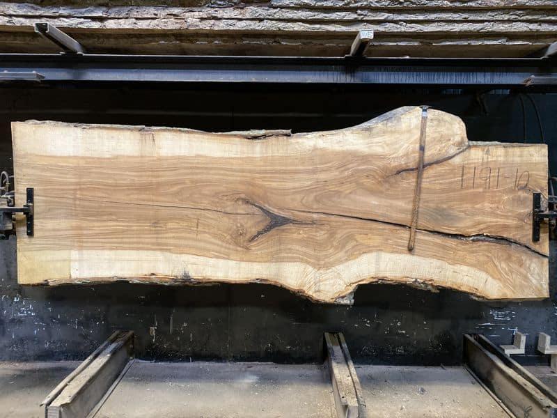 ash slab 1191-10 rough size 2.5″ x 36-43″ avg. 39″ x 10′ $950