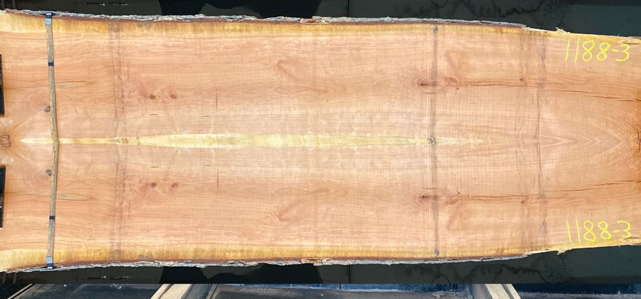 cherry slabs 1188-2&3 simulation, Approx. size 2″ Thick x 46″ wide x 10' long.  $1600