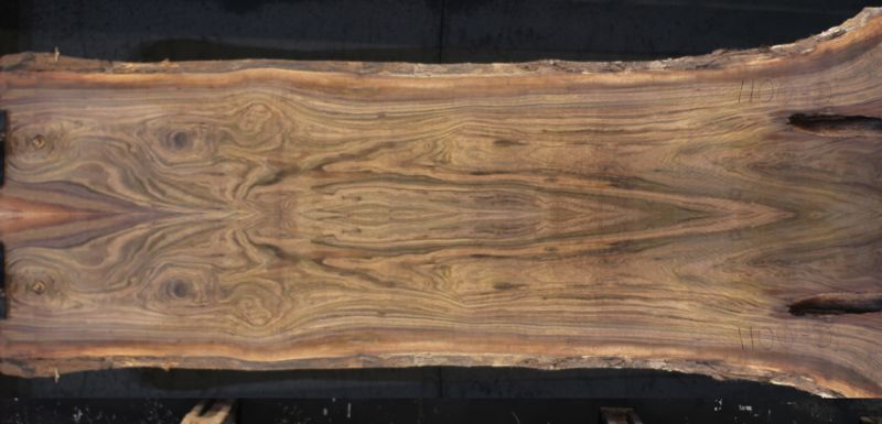 walnut slabs 1100-1&2 bookmatch simulation, Approx. size 2″ Thick x 40″ wide x 12' long $2450 SALE PENDING PO 21-8049