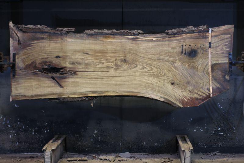walnut slab 1106-8 rough size 2.5″ x 30-38″ avg. 33″ x 9′