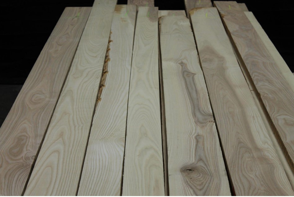 Northern Select & Better White Ash Unselected for color
