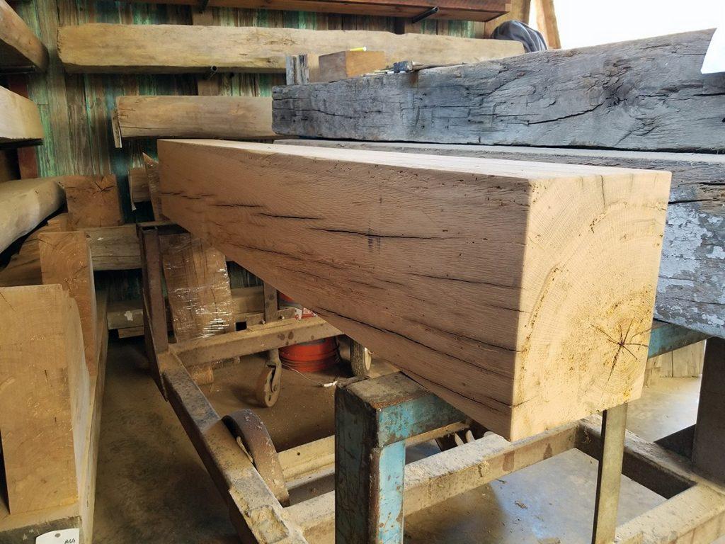 Unfinished Hardwood Mantel