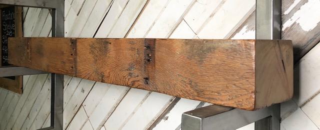 Pine Mantel 2002, size: 6″ High x 8″ Deep x 55″ Long, right view