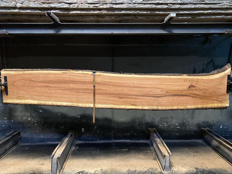 cherry slab 1135-3 rough size 2″ x 21-24″ avg. 23″ x 12