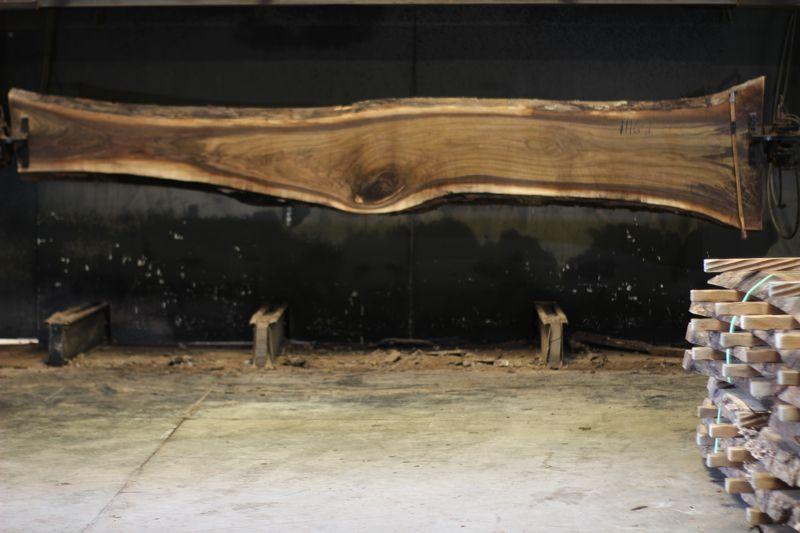 walnut slab 1116-1 rough size 2.5″ x 14-33″ avg. 20″ x 14′ $850