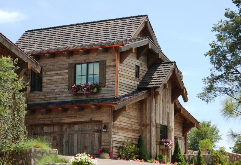 Reclaimed lumber turned in to beautiful barn siding