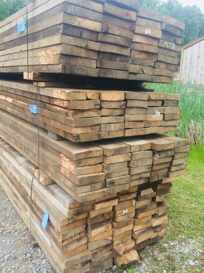 Reclaimed lumber packs