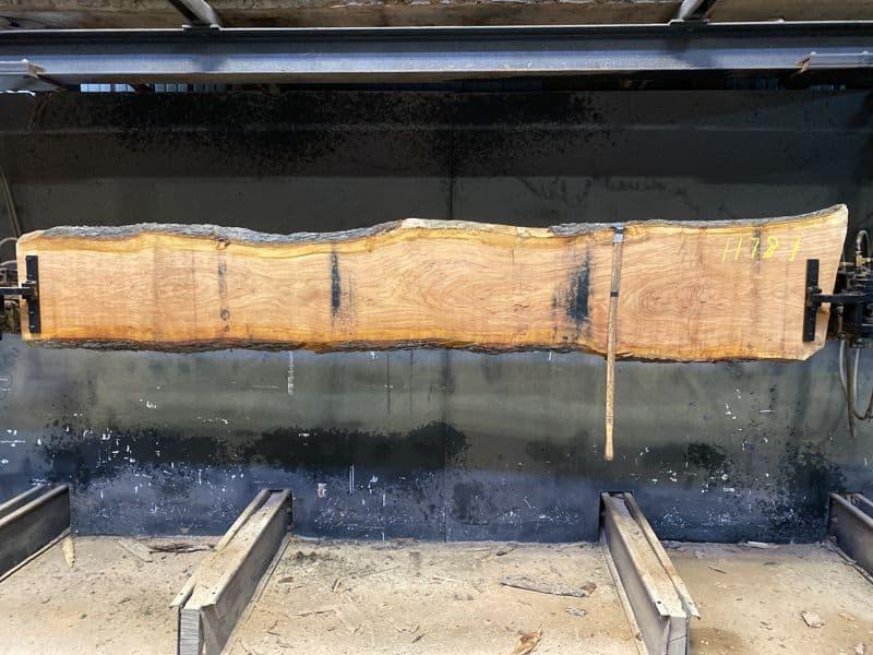 cherry slab 1178-1 rough size 2″ x 15-20″ avg. 17″ x 10′ $525