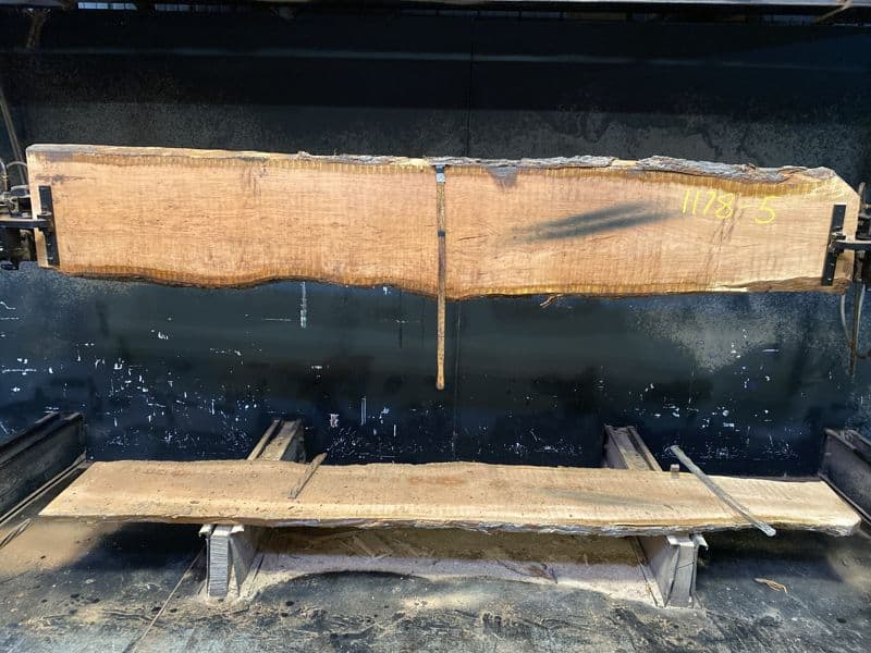 cherry slab 1178-5 rough size 2″ x 14-20″ avg. 18″ x 10′ $550