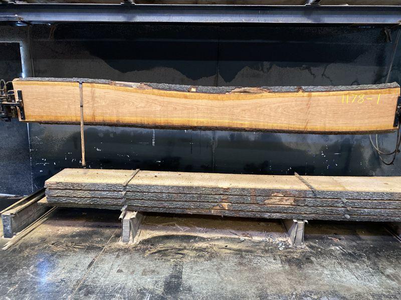 cherry slab 1179-1 rough size 2.5″ x 13-16″ avg. 15″ x 12′ $475