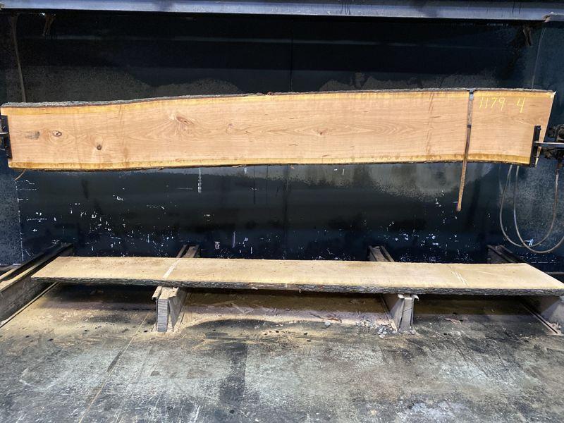 cherry slab 1179-4 rough size 2.5″ x 17-19″ avg. 18″ x 12′ $600