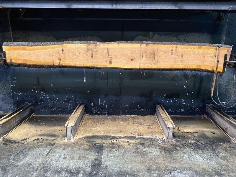 cherry slab 1179-5 rough size 2.5″ x 10-16″ avg. 15″ x 12′ $475