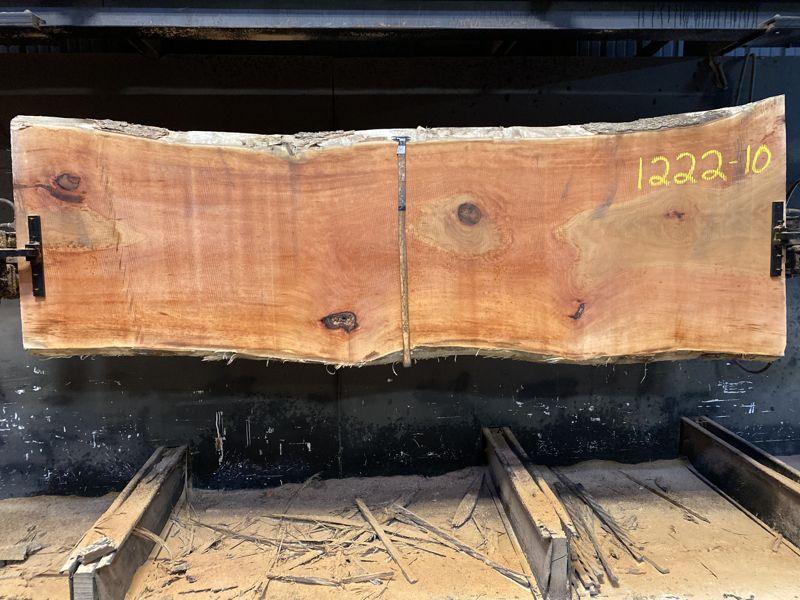 sycamore slab 1222-10 rough size 2.5″ x 32-39″ avg. 33″ x 10′ $950
