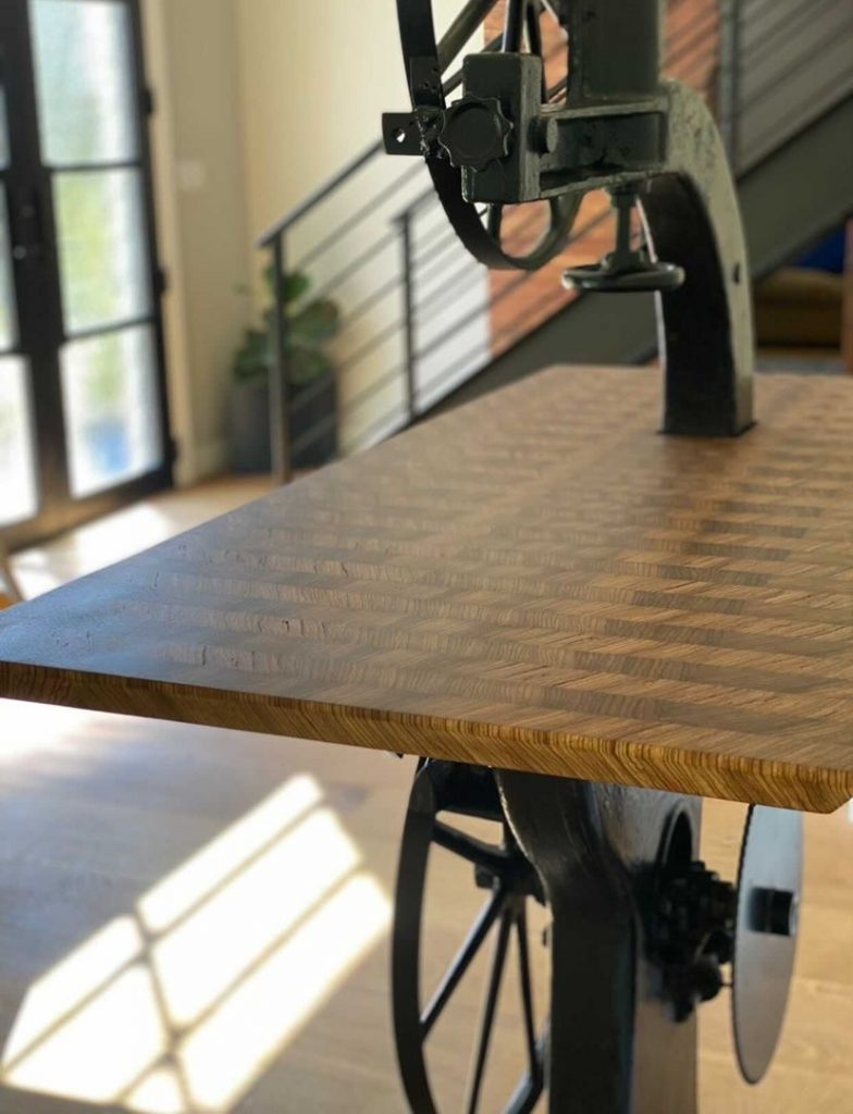 Zebrawood Bandsaw created by Kyle at East Texas Grain and Knot